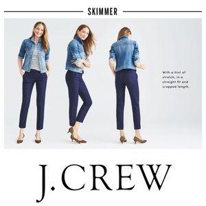 J. Crew Skimmer Crop Pants